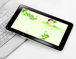 9 inch screen tablet two cameras for 3 g dual-core T9 led show android 4.1(China (Mainland))