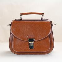 2013 women's handbag vintage messenger bag handbag cross-body leather bag genuine leather handbag women's