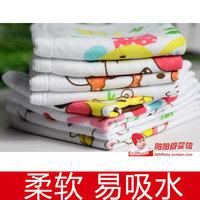 Baby multi purpose hive gauze towel baby wipe sweat towel De-Forest handkerchief hanging buckle