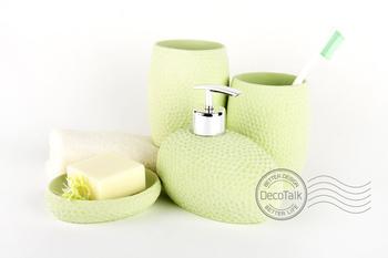 free shipping luxury resin handicraft bathroom set five piece bathroom accessories wedding gift hotel supplies innovative items
