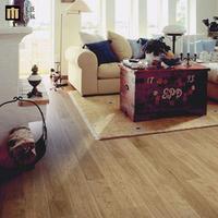 Full a multi-layer solid wood floor geothermal floor oak self-shade engineered wood flooring floor self-shade
