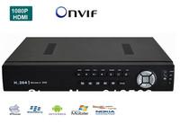 DHLFree Shipping:CCTV 16CH  Full D1   H.264 DVR Standalone Super DVR SDVR/HVR/NVR Security System 1080P HDMI Output DVR ONVIF