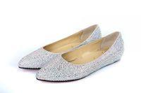 2014 hot sale sale closed toe women freeshipping flat shoes woman red bottom rhinestone sole sneakers low heel bottoms us sze11