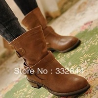 Free shipping! Women Spring and Autumn 2013 female Europe and the United States Martin Knight boots retro Korean f