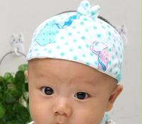 Pure summer baby hat air conditioner cap door cap newborn baby protection hood