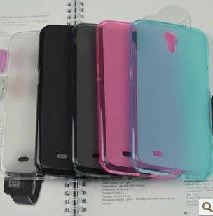 100pcs/lot Abrasion TPU Soft Gel Case Cover For Samsung Galaxy Mega 6.3 I9200 Free Shipping DHL Wholesale(China (Mainland))