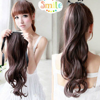 Free Shipping Hot Item New Stylish Ponytail wig pear roll horseshoers wigs long curly hair roll horseshoers piece