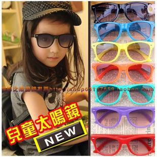 Fashion sunglasses personality meters male female child sunglasses infant 2013 decoration sunglasses