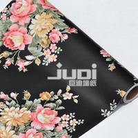 Free Shipping 2013 Black-matrix Rich Pattern Waterproof Wallpaper 45cm wide 10 Meters Long XQW048