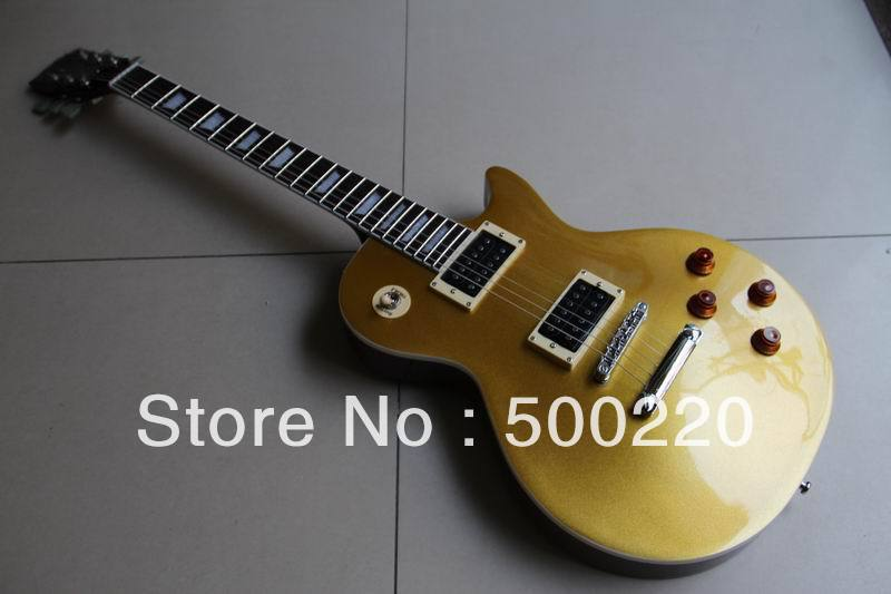 Wholesale - New china guitar slash model electric guitar gold top Gold 111030(China (Mainland))