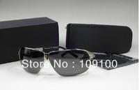 Free shipping /Full Frame UV 800 Protection 100%Polarized Resin Sunglasses/anti-radiated bolong man sun glasses