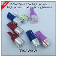 2013 new products 2.5W High Power White 4 SMD LED Car T10 W5W 194 927 161 Side Wedge Light Lamp Bulb,10pcs/lot,free shipping