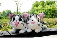 Free shipping wholesale Super cute chi's sweet home cheese cat plush doll animals toys 20cm cat plush toy