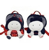 Allo lugh 100% pure cotton baby anti-lost bag kindergarten school bag backpack