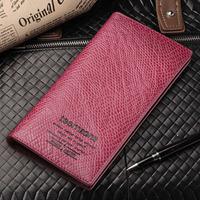 Lovers gift teemzone lovers wallet women's long zipper design cowhide card holder genuine leather