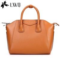 Lwq 2013 spring and summer the trend of women's handbag PU women's handbag messenger bag ol work bag