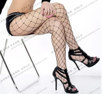 Big mesh fishnet stockings transparent rompers sexy stockings charming sexy big grid pantyhose