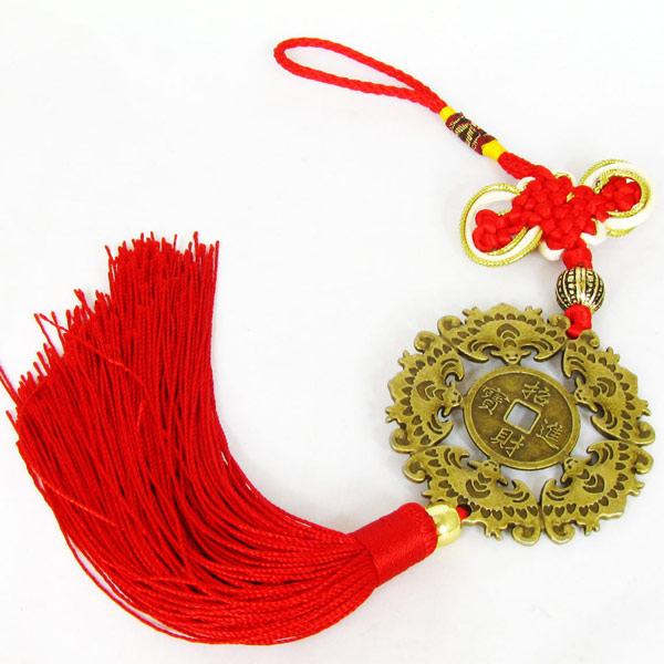 Front car hanging car apotropaic feng shui products festive red(China (Mainland))