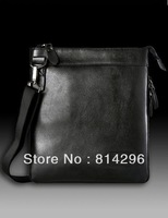 Men's bags business casual shoulder inclined shoulder bag. Free shipping