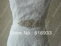 New arrival beaded wedding accessiories wedding dress sash wedding dress waistband  BD275