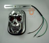 аксессуары мотоцикл изменения черепа призрак декоративные винты 2,5 см 10pcs/lot