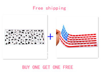 USA America FLAG +cow pattern Silicone Keyboard Cover Skin film protector sticker for all MacBook Pro air 13 15 17 free shipping