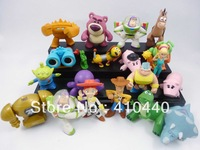 New 20pcs Set TOY STORY 3 MINI FIGURINE Lightyea Alien Nice Gift loose figure Free shipping