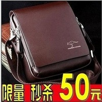 Handbags Kangaroo male package male shoulder bag messenger bag casual bag briefcase handbag