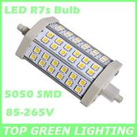 Free Shipping 5050 SMD LED R7S Corn Light Bulb 5W 7W 9W 12W 15W R7S 110V 220V 230V 240V R7s LED Bulb Lamp Replace Halogen Lamp