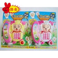 Educational toys 0 - 3 multifunctional electric music cartoon telephone toy