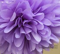 "50pcs 10cm/4"" Pom Poms Ball-Tissue Paper Pom Poms Flower Weddings, Woodland, Modern Vintage, Decorations #16"