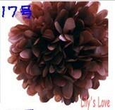 "50pcs 10cm/4"" Pom Poms Ball-Tissue Paper Pom Poms Flower Weddings, Woodland, Modern Vintage, Decorations #17"