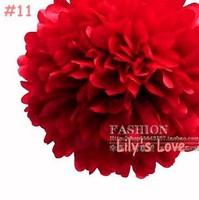 "80pcs 10cm/4"" Pom Poms Ball-Tissue Paper Pom Poms Flower Available Weddings, Woodland, Modern Vintage, Decorations #11"