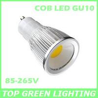 2 x COB LED GU10 Light Bulb 3W 5W 7W 110V 220V 230V 240V GU10 COB Ampoule LED Spot GU10 COB Lampadina Bombillas LED COB GU10