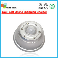 Hot selling Auto PIR sensor AUTO 6 LED Adjustment AAA Battery night lamp Free shipping