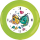 Cross stitch big picture kit clock kissing fish series(China (Mainland))