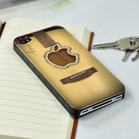 For iPhone 5  Apple guitar patternHard Back Protective case