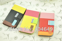 Free Shipping MOQ 1pc KALAIDENG Painting Series PU Leather Wallet Case Cover For Samsung Galaxy SIV S4 i9500