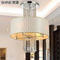 Upscale metallic sense fashion crystal ceiling light  innovate bedroom lights living room lights restaurant lamp free shipping