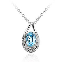 Free Shipping 2013 crystal aesthetic fashion necklace jewelry birthday gift female