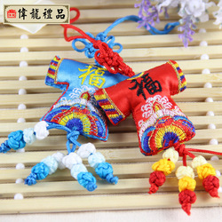 Hot selling China style Chinese knot embroidery chinese knot Small chinese style unique gift(China (Mainland))