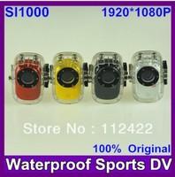 2013 Original Waterproof underwater 30M Full HD 10 Sport Helmet Camera with HD 1920*1080P H.264 G-Senor Car Video/Dvr  Camcorder