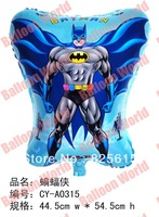 Free shipping NEW ARRIVAL100pcs/lot aluminum foil helium balloons Batman balloon