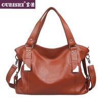 Genuine leather women's handbag trend 2013 women's handbag fashion first layer of cowhide handbag messenger bag big bag