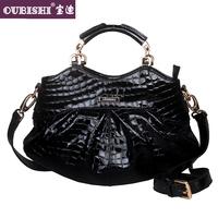 Bags 2013 women's handbag fashion women's handbag crocodile pattern handbag messenger bag cowhide