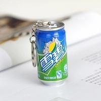 Stationery cola pen wang laoji retractable pen ballpoint pen cans pen keychain