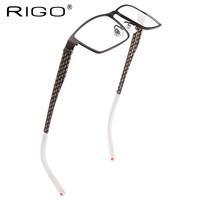 Rigo glasses myopia Men titanium eyeglasses frame full frame plus size glasses b titanium male glasses
