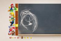 Hot Sale  HOT! Super Mario Height Measurement 3D Wall Sticker Art Vinyl Home Decor Decal