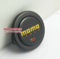 Free Shipping!!!!MOMO Steering Wheel Hubs Car horn button  black (A,horn button * 1) ,CC127