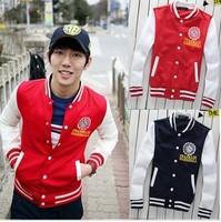 2011 autumn and winter fashion baseball uniform lovers preppy style coat casual jacket